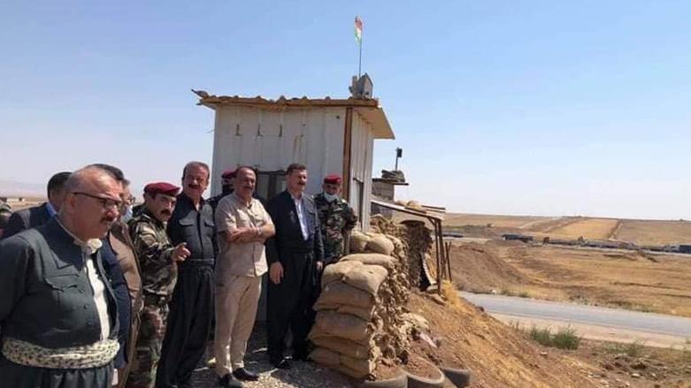 Parlamento heyeti, Duhok'ta Peşmerge cephelerinde!