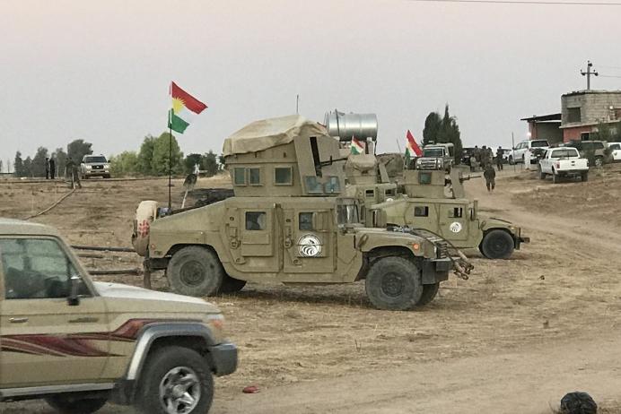 Peşmerge ve Irak ordusundan ortak kara operasyonu!