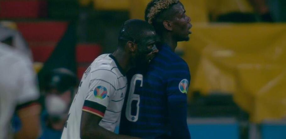 Fransa - Almanya maçına damga vuran olay!