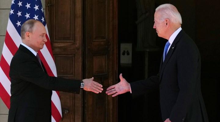 Biden-Putin görüşmesinde Suriye konusu: Uzlaşmaya varılamadı!