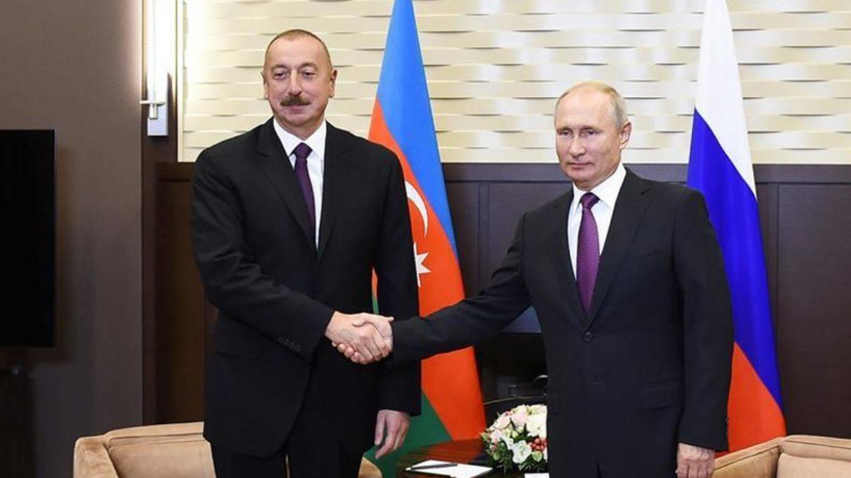 Putin ve Aliyev, Dağlık Karabağ'ı görüştü!