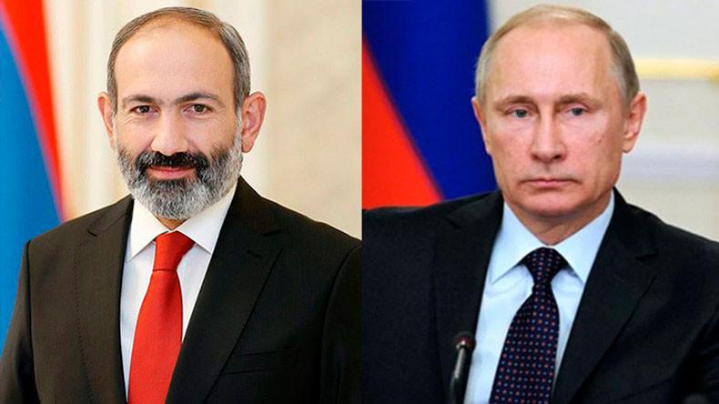Kremlin | Putin, Paşinyan ile Karabağ'ı görüştü!