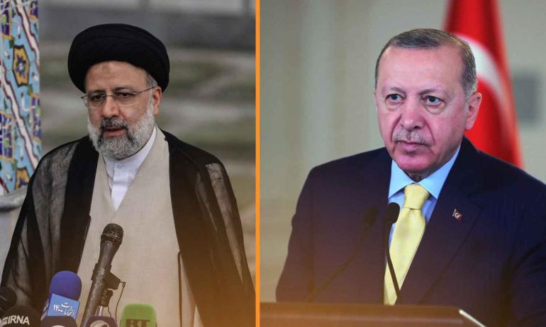 Erdoğan ve Reisi, Tahran-Ankara ilişkilerini ele aldı!