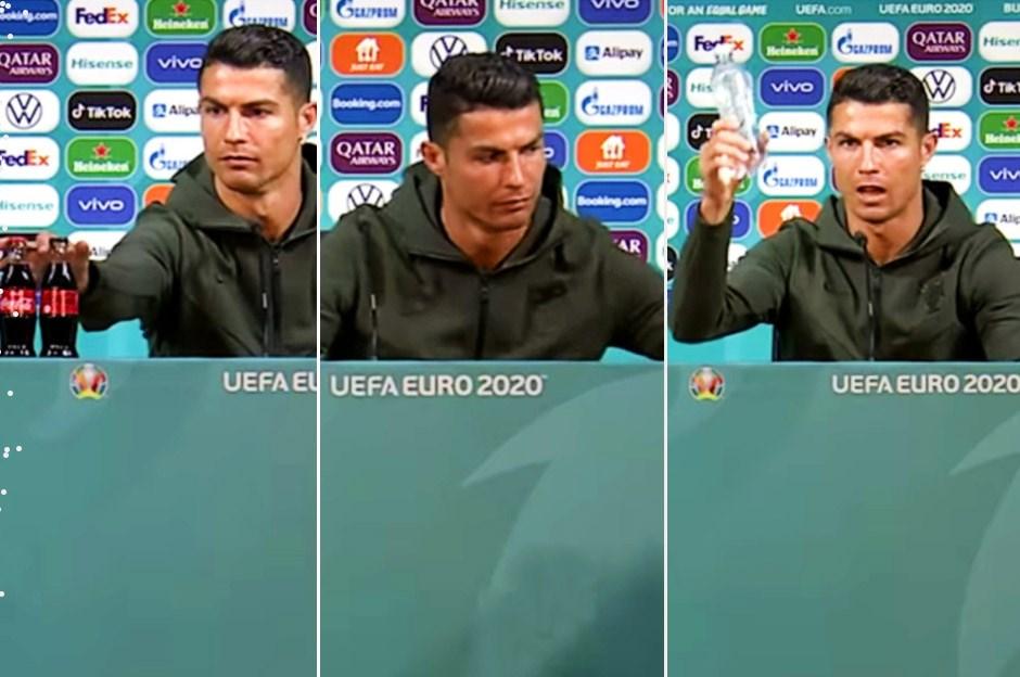 Ronaldo'dan CocaCola'ya darbe: 'O hareketi' 4 milyar dolara mal oldu!