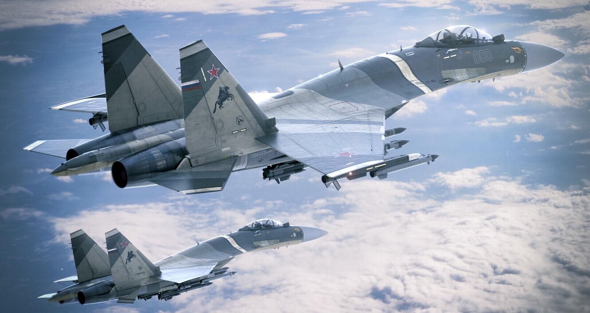 Rus Su-35S savaş uçağı denize düştü!