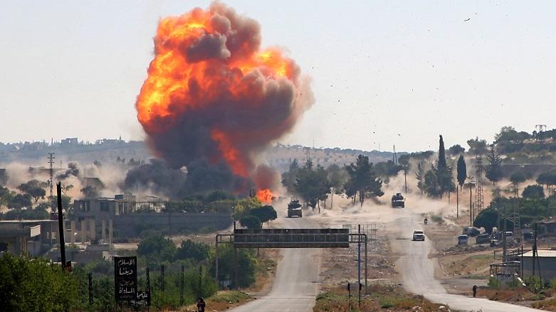 Suriye'de Rus askeri konvoyunda patlama!