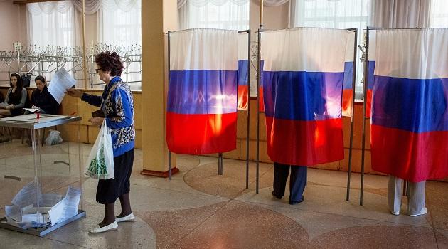 Rusya'da seçim sandıkları kapandı: Katılım yüzde 45!