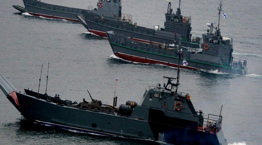 Rus filosundan Japon Denizi'nde füze atışları!