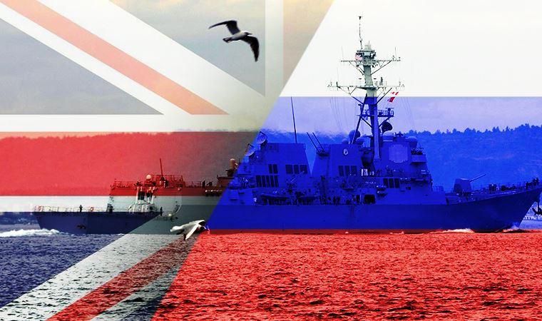 Rus ordusu, Karadeniz'de bulunan İngiliz savaş gemisine ateş açtı!