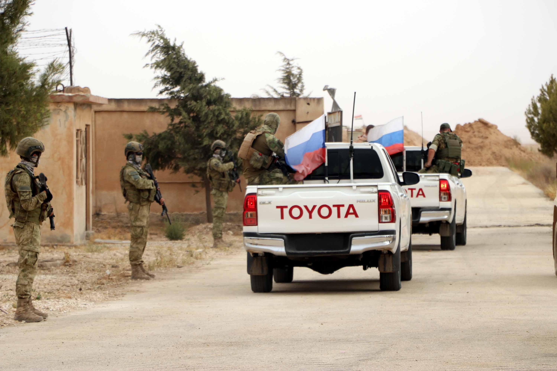 Rojava   Rus ve Türk askerleri su ve elektrik sorunları için bir araya geldi!
