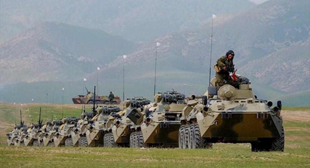 Rusya'dan Azerbaycan-Ermenistan sınırına askeri sevkiyat!