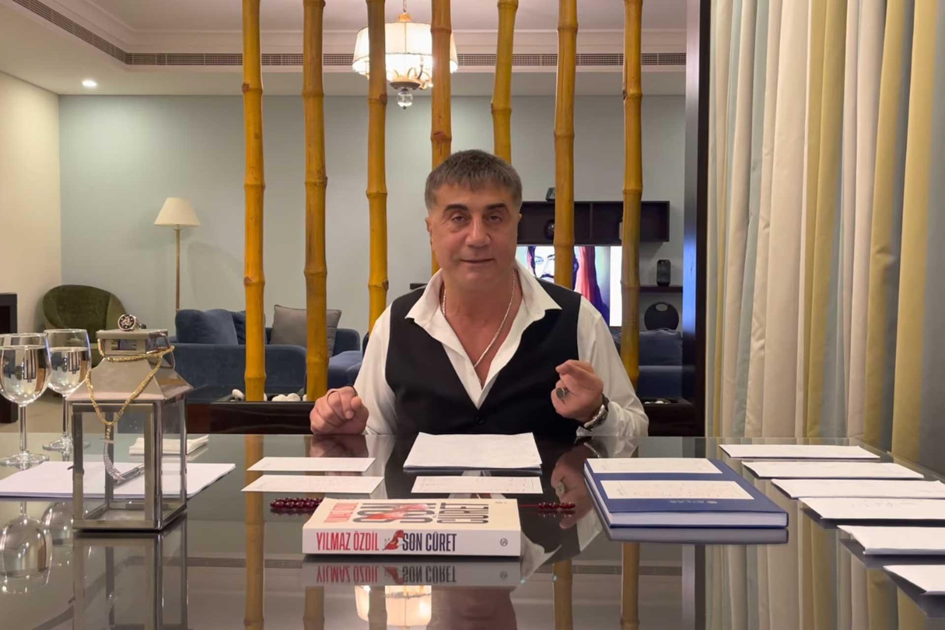 """Sedat Peker'den """"AKP ile FETÖ görüşüyor"""" iddiası!"""