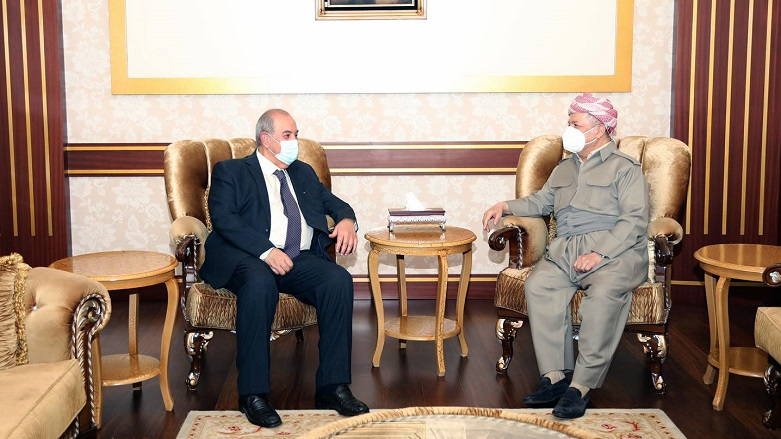 Başkan Mesud Barzani, İyad Allavi'yi kabul etti