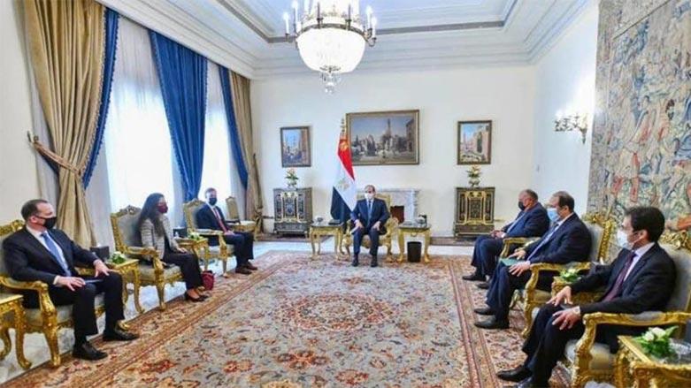 ABD Ulusal Güvenlik Danışmanı ve üst düzey heyet Mısır'da