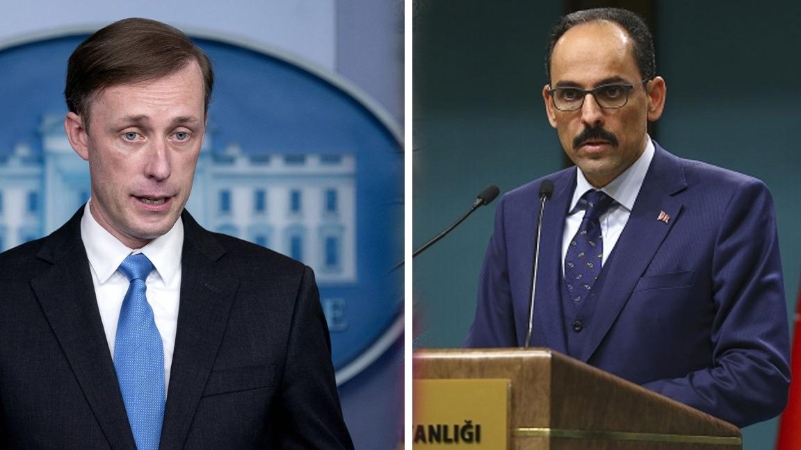 Kalın ve Sullivan, Suriye, Doğu Akdeniz ve Kıbrıs'ı görüştü