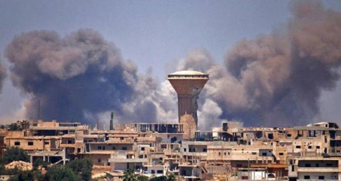 Esad rejimi ve İranlı milislerinden, Dera'ya ağır saldırı!