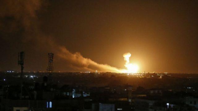 Şam: İsrail'in hava saldırılarına karşılık verildi!