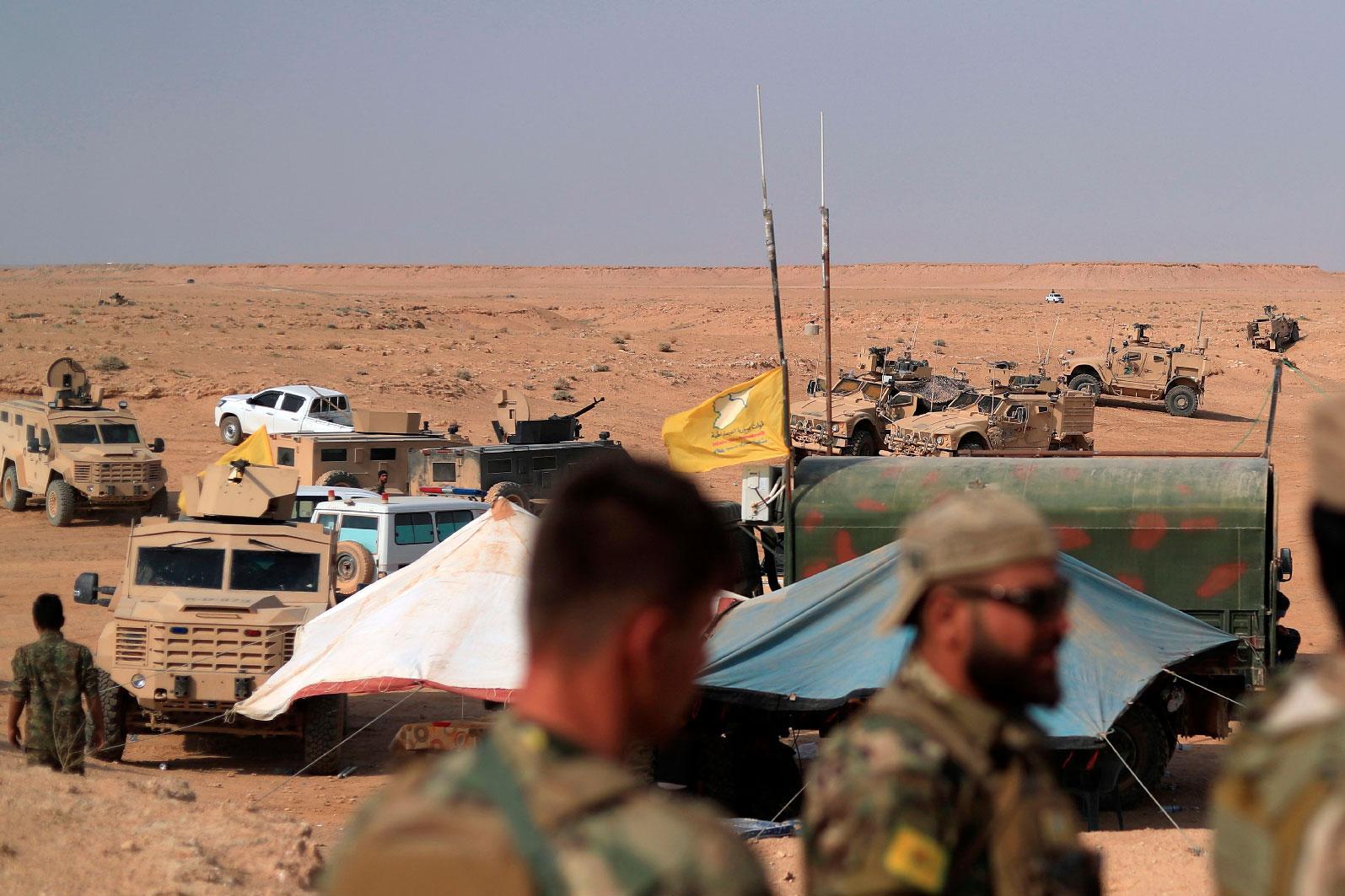 DSG, Rojava'daki saldırıların kaynağını açıkladı!