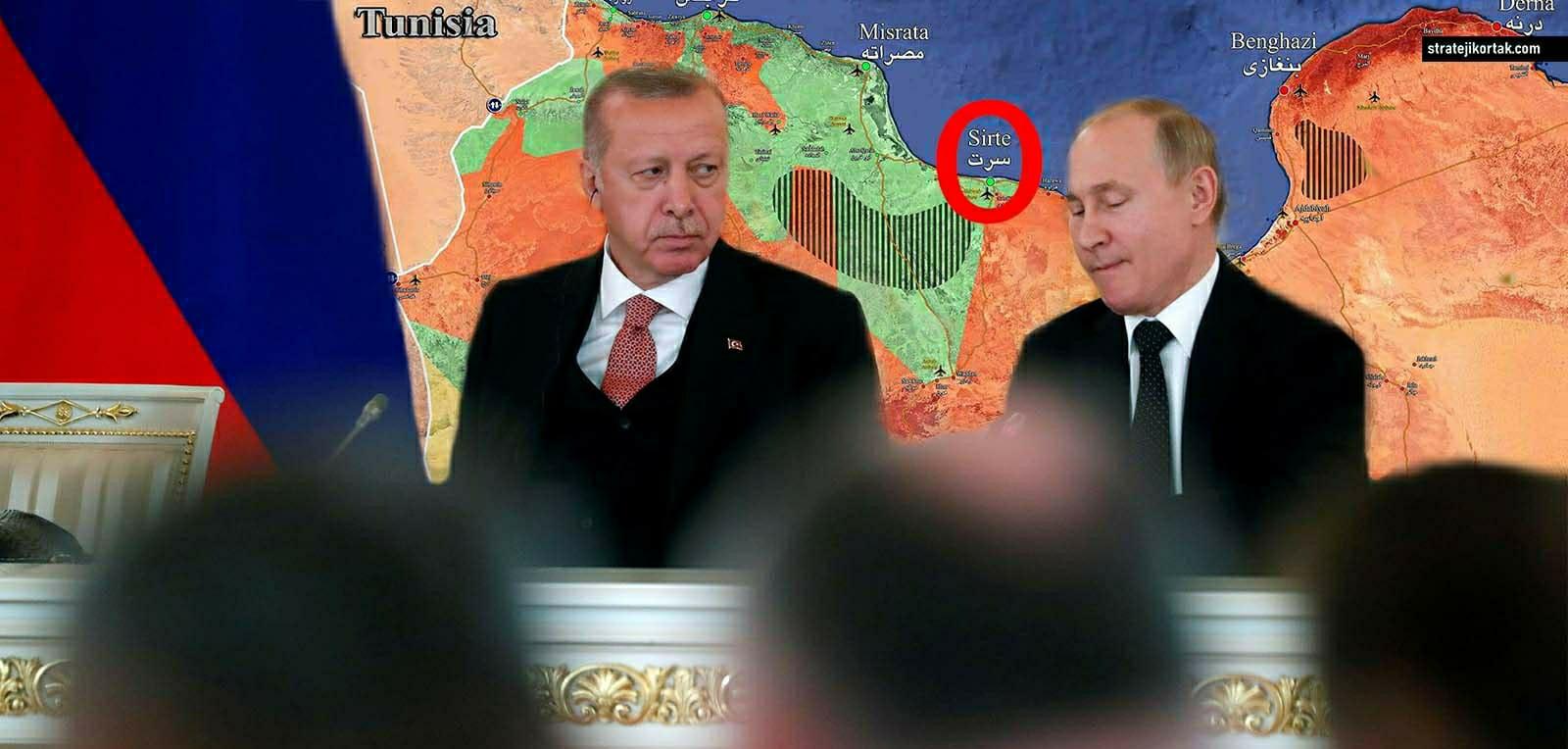 Türkiye ve Rusya Libya konusunda anlaştı!