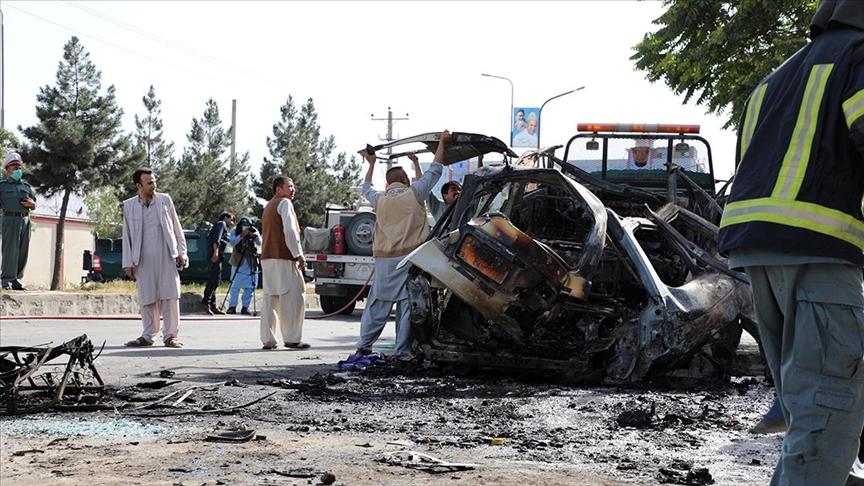 Afganistan'da Taliban güçlerine bombalı saldırı!