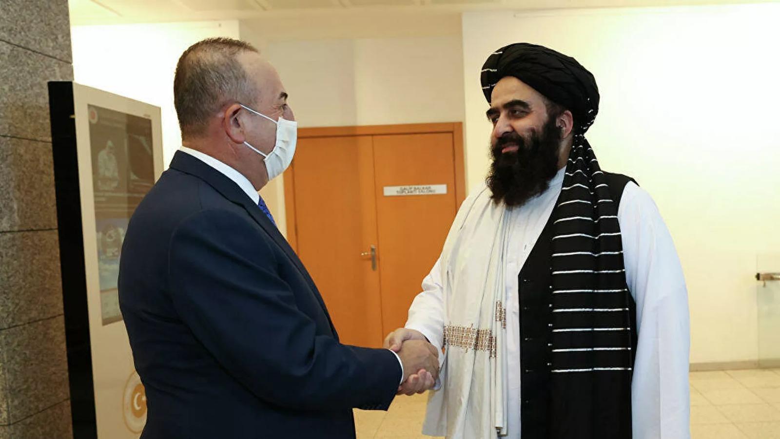 Taliban'la görüşme sonrası Çavuşoğlu'ndan açıklama!