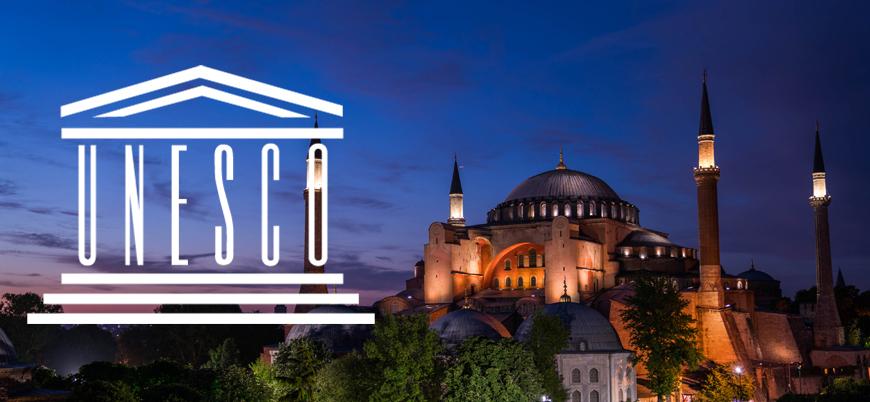 Türkiye'den UNESCO'ya Ayasofya tepkisi!
