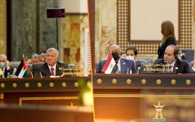 Ürdün ve Mısır liderlerinden Irak'a destek açıklaması!