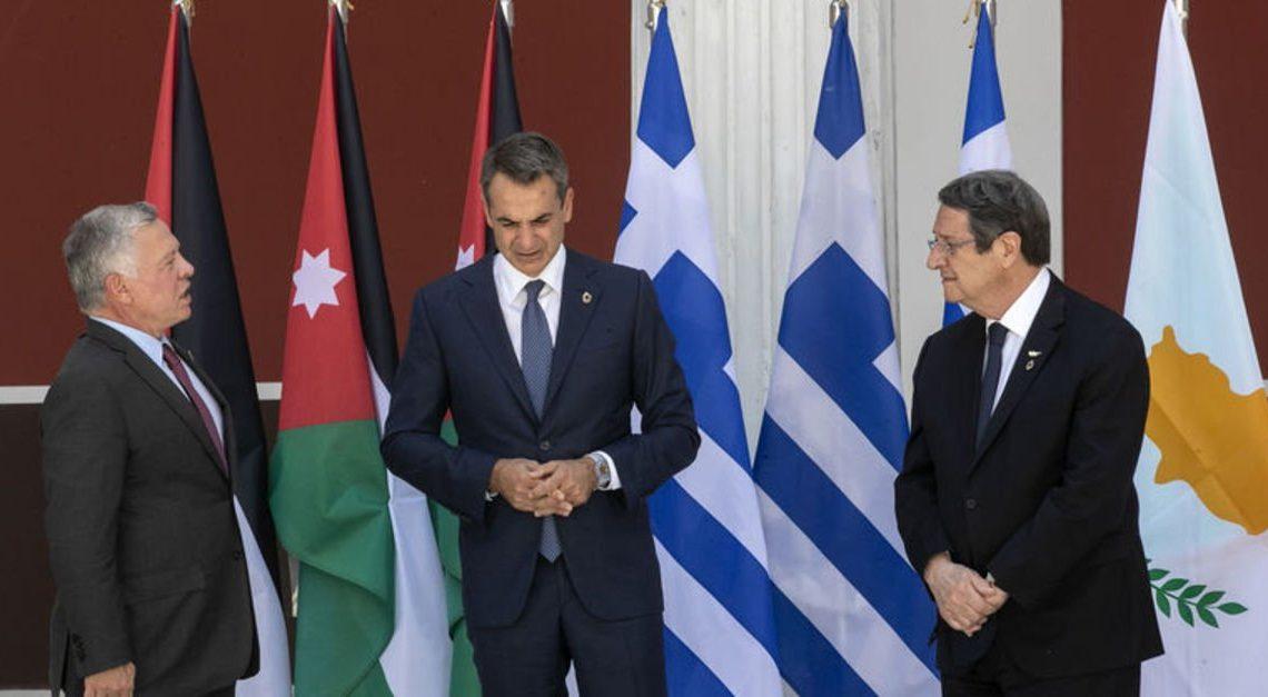 Yunanistan, Ürdün ve Kıbrıs arasında kritik görüşme!