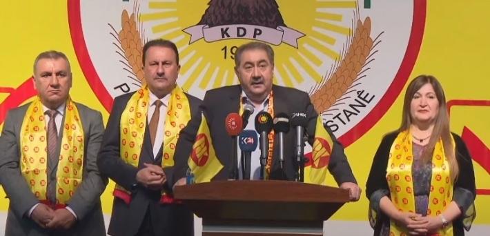 """KDP: """"Kürt halkına ve kadrolarımıza büyük güven duyuyoruz"""""""