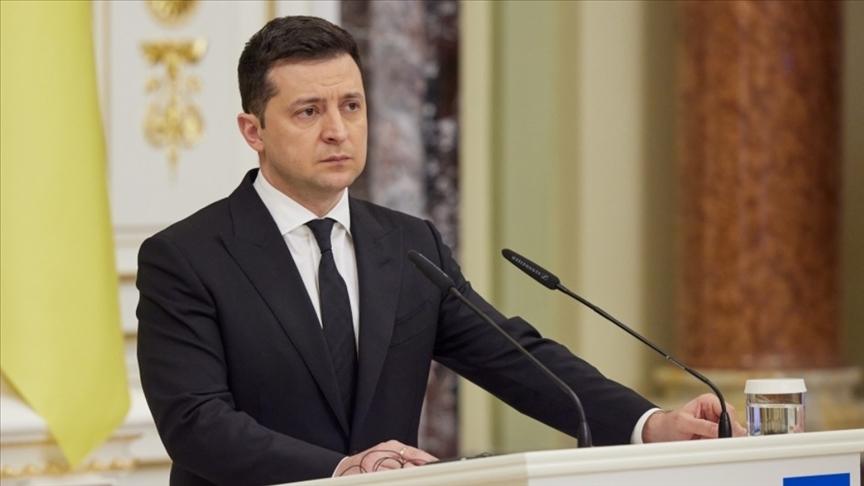 Zelenskiy, Rusya'ya yönelik yaptırımları yürürlüğe koydu