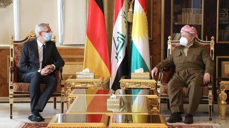 Almanya'dan Kürdistan Bölgesi'ne destek vurgusu!