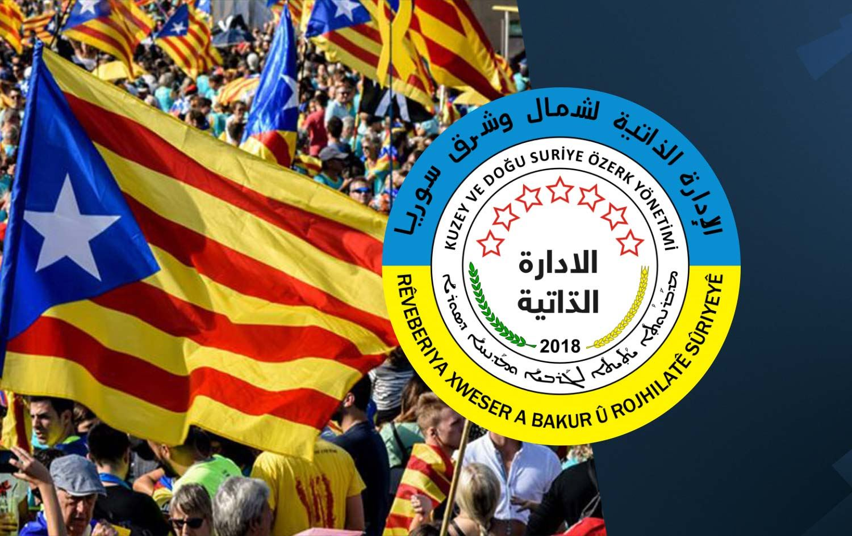 """Rojava'dan Katalonya'nın """"Özerk Yönetimi tanıma"""" kararı hakkında açıklama!"""