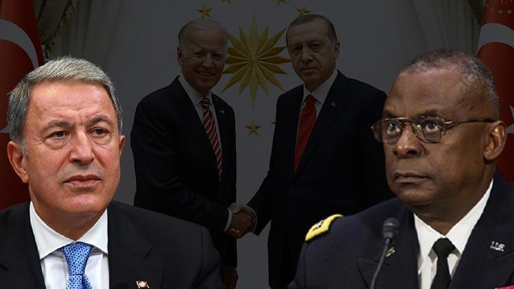Erdoğan-Biden görüşmesi öncesi Akar'dan Austin'e önemli telefon!