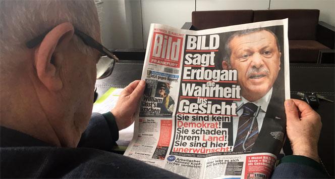 Bild'den Erdoğan'a ağır eleştiri: Türkiye'de artık her şey mümkün!