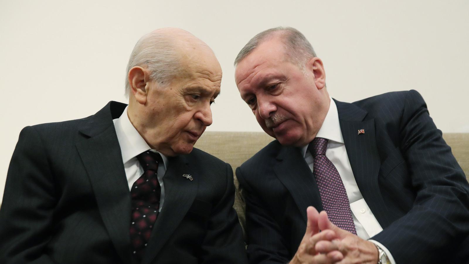 Erdoğan kritik kabine toplantısı öncesi Bahçeli ile görüşecek!