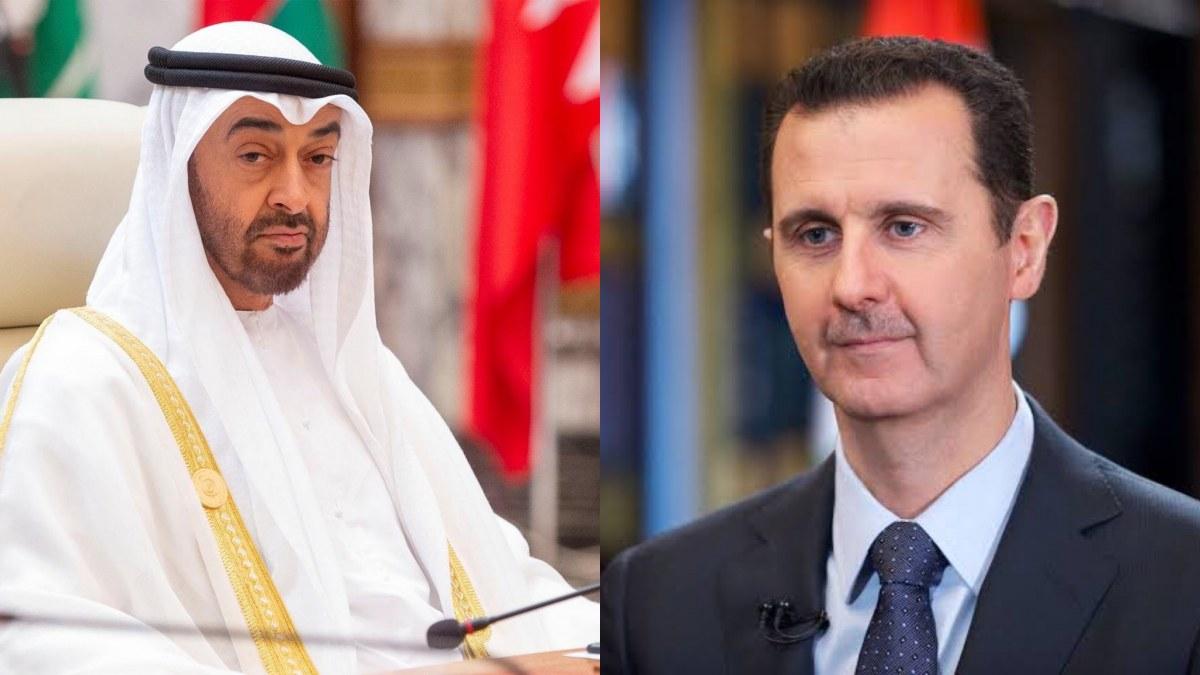 Esad ile BAE veliaht prensi arasında görüşme!