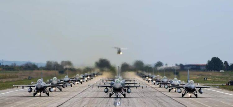 İsrail'deki tarihi tatbikata BAE hava kuvvetleri komutanı da katıldı!