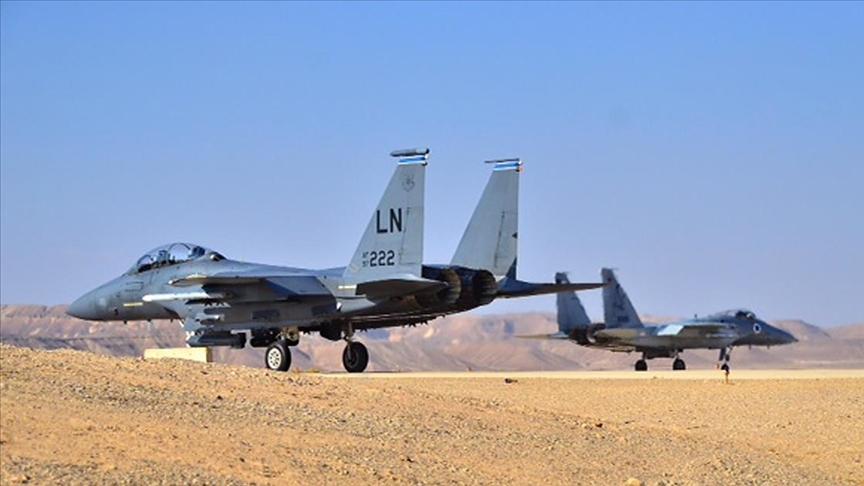 """""""İsrail Hava Kuvvetleri, İran'ı vurmak için eğitimlere başladı"""""""