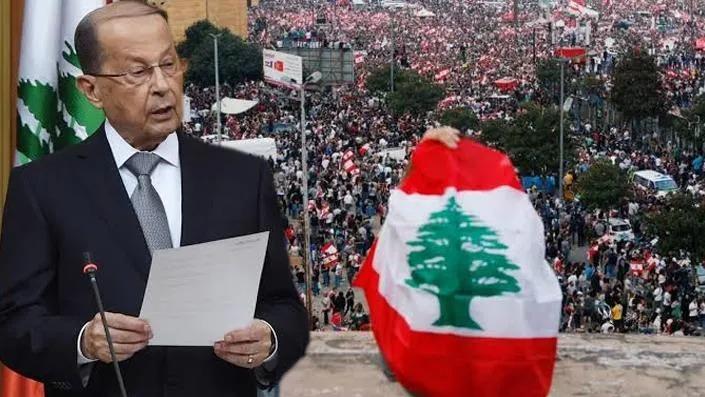 Lübnan Cumhurbaşkanı'ndan erken seçim kararına itiraz!