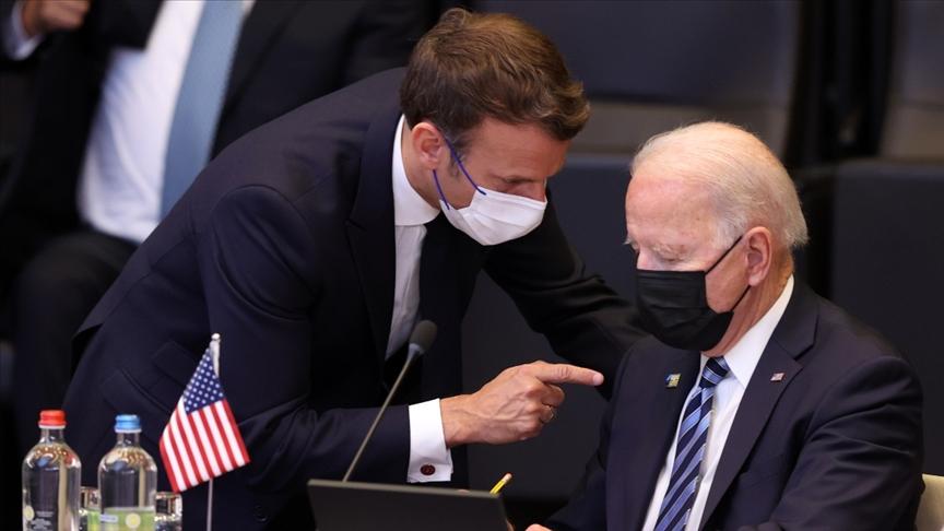 Joe Biden ve Macron'dan kritik görüşme!