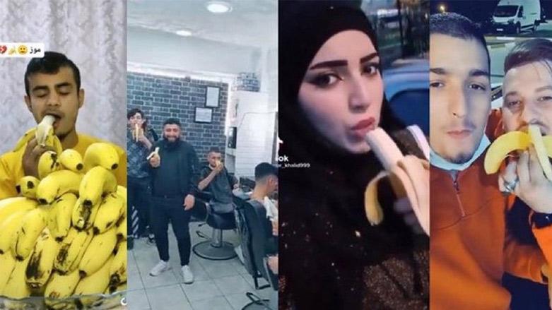 Muz yeme videosunu paylaşan Suriye'liler hakkında önemli gelişme!