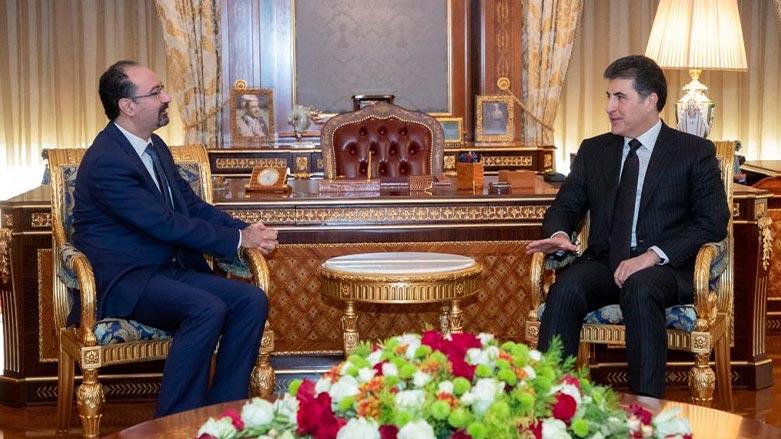 Neçirvan Barzani'den Ürdün Kralı'na teşekkür mesajı!