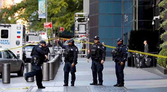 New York'taki BM Genel Merkezi önünde 'şüpheli paket' alarmı