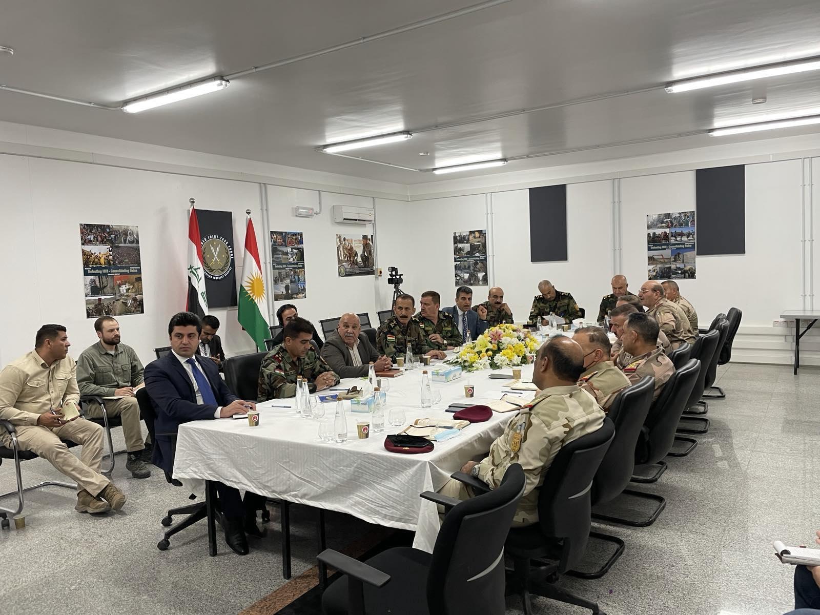 Peşmerge ve Irak arasında Kürdistani bölgeler toplantısı!