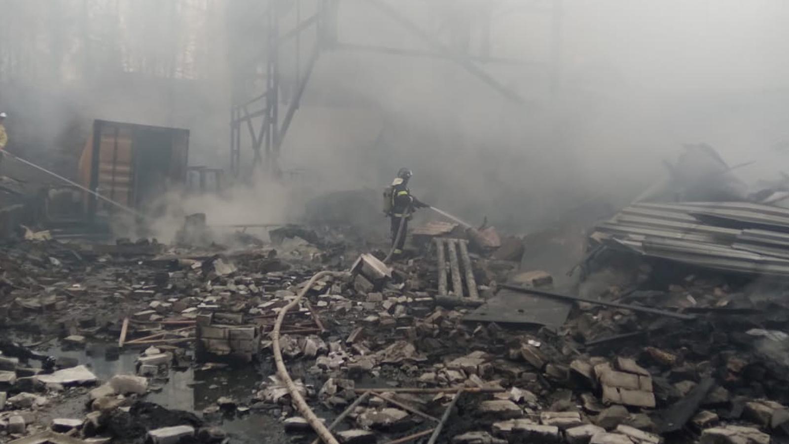 Rusya'da patlama: Çok sayıda ölü var!