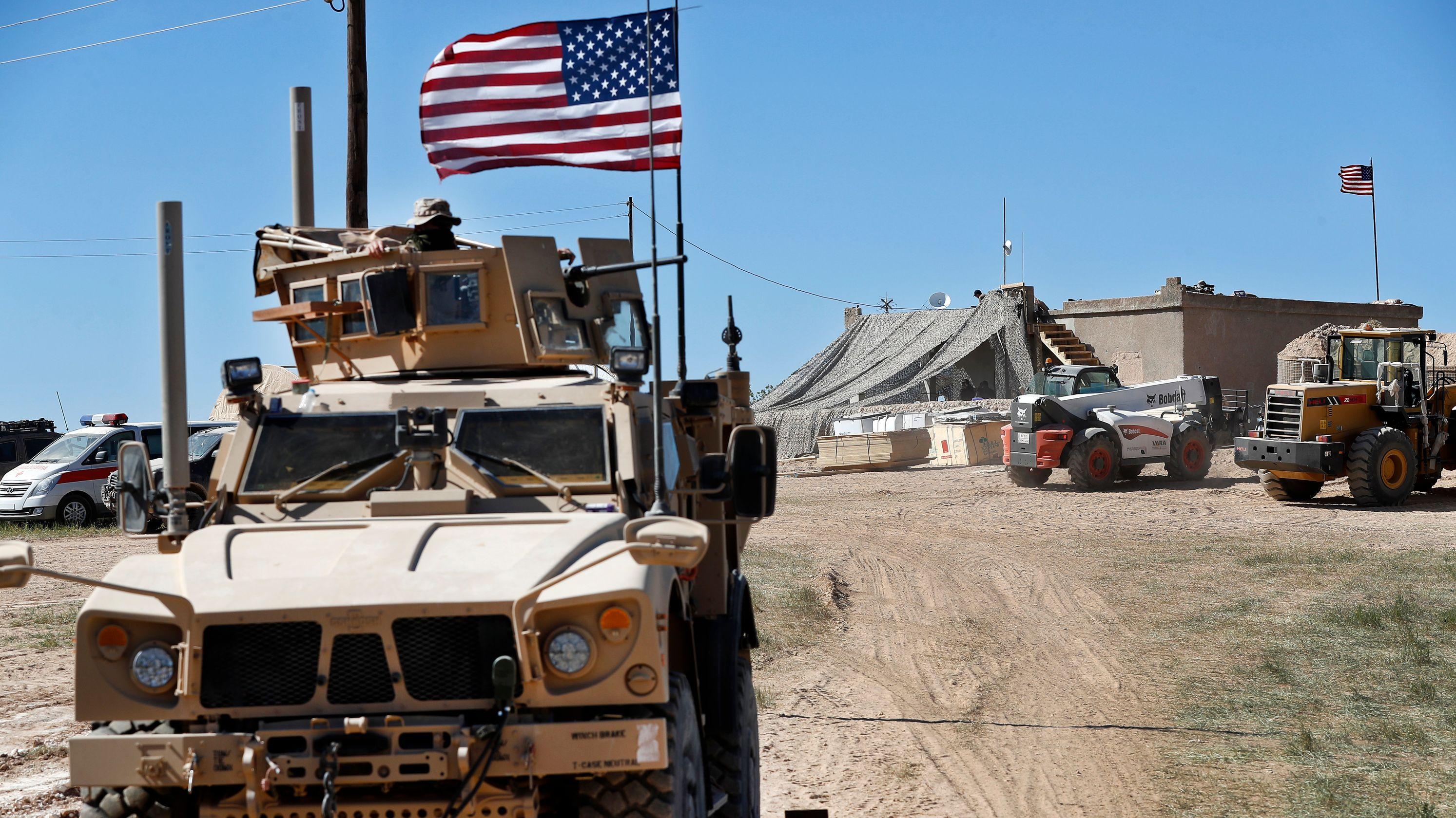 Suriye-Irak sınırındaki ABD askeri üssüne saldırı!
