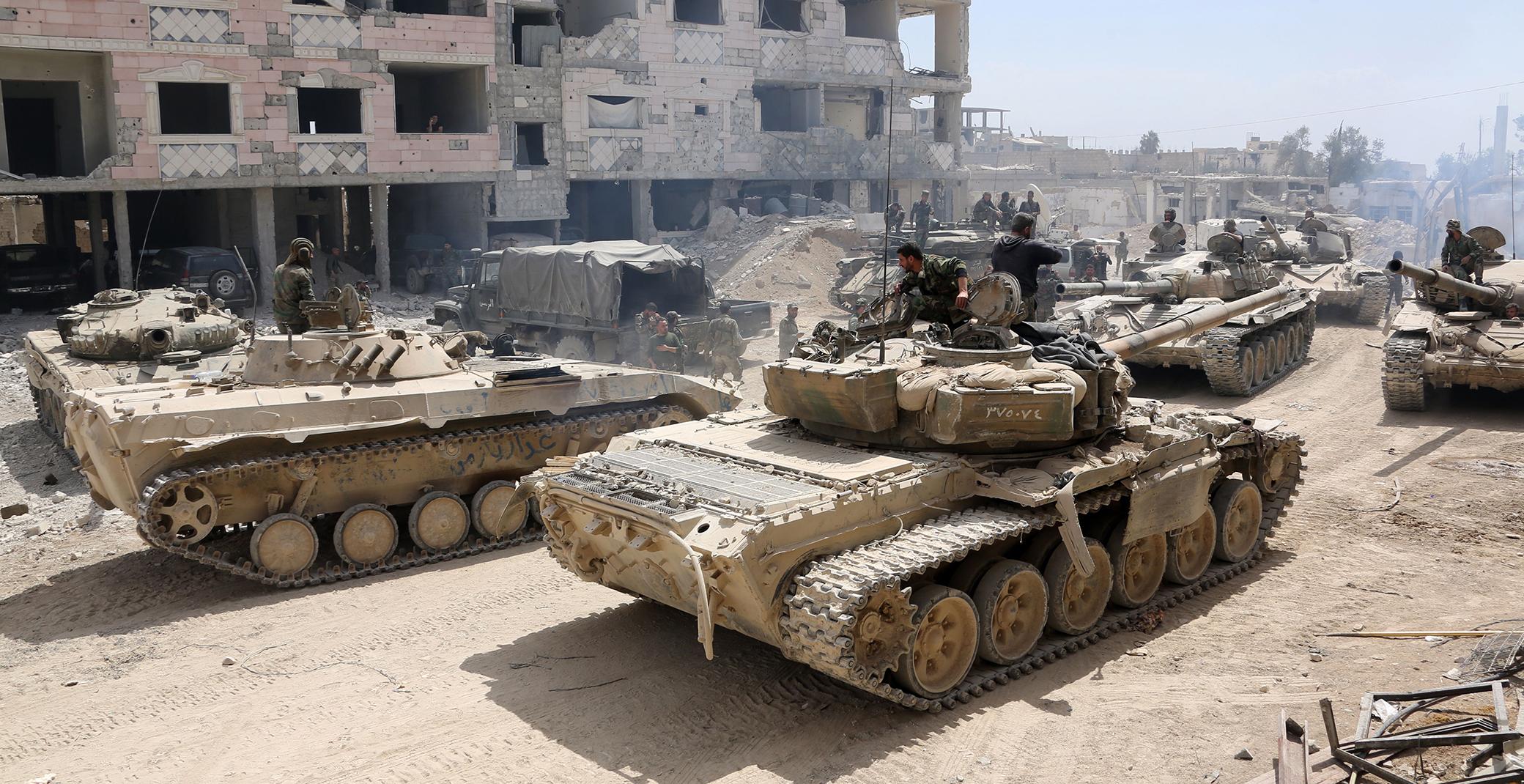 Şam rejimi ordusundan İdlib'e büyük sevkiyat!