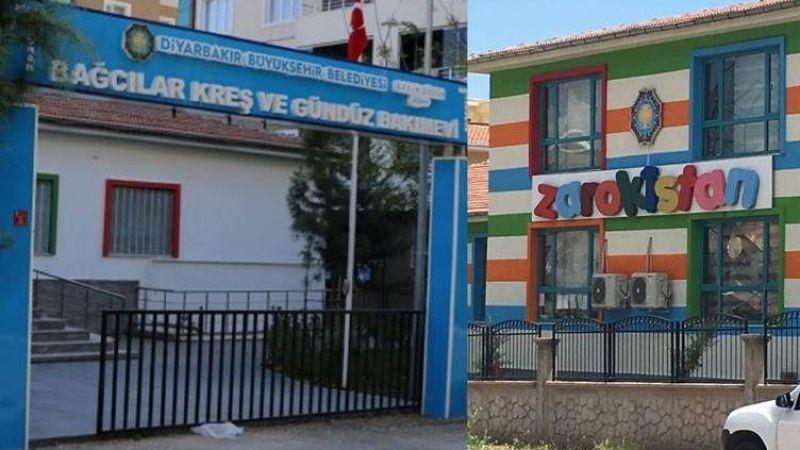 Diyarbakır'da Zarokistan yazılı Kürtçe tabela kayyum tarafından indirildi!