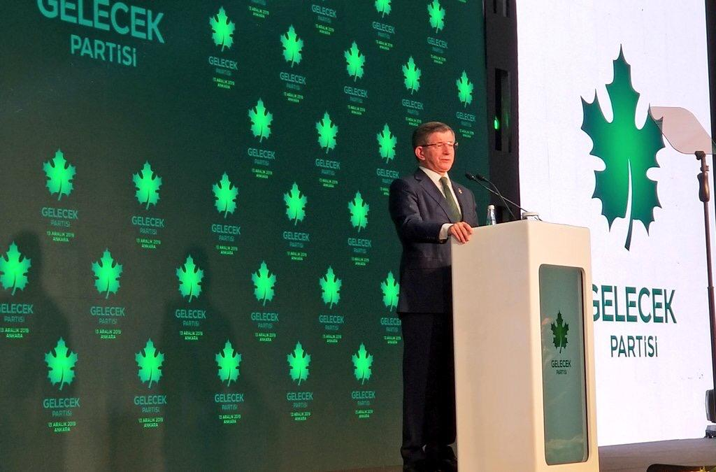 Davutoğlu Gelecek Partisi'nin kuruluşunu ilan etti