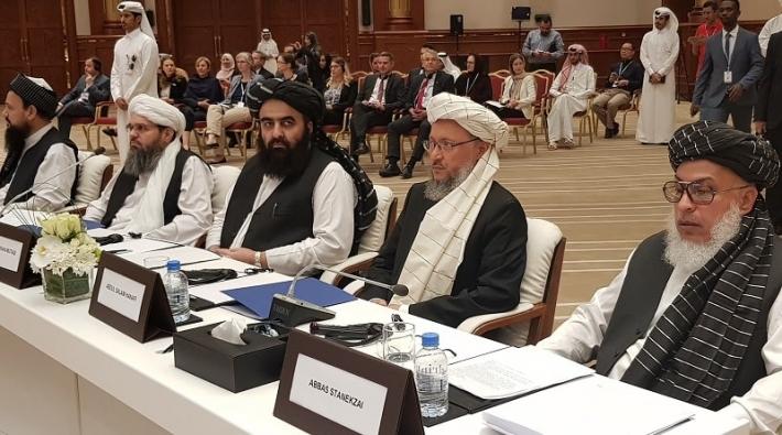 ABD ile Taliban görüşmeye başladı